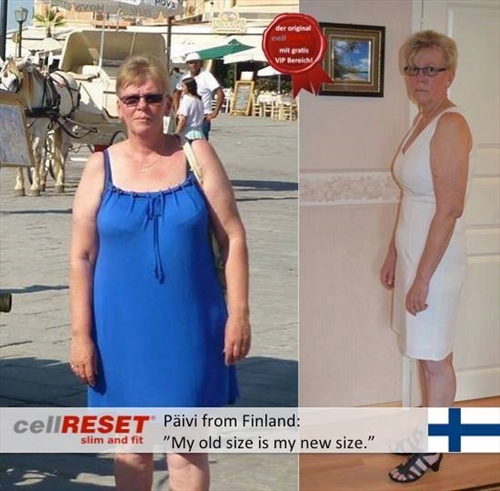 """Päivi: """"My old size is my new size."""""""